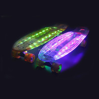 Led Skateboards/Longboards and Cruiser Board with Led wheel