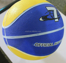 Alibaba china Crazy Selling low cost blank rubber basketballs
