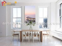 Dream Series Modern Scene Abstract Sea Oil Painting for Wall Decoration