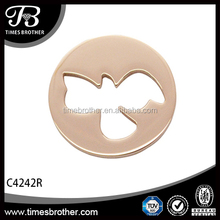 Good luck coins locket living locket pendant wholesale china supplier