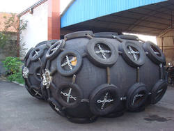 Supply Yokohama type Floating pneumatic rubber fenders/bumpers