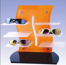 2015 new style acrylic sunglasses rack , Clear acrylic glasses shelf, acrylic car sunglasses shelf