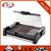 Electric Rotary Chicken Grill Machine With PP Cool Touch Housing