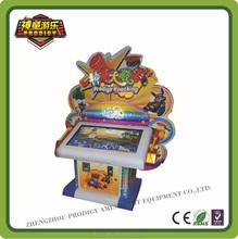 Parent-child amusement lottery video game machine