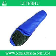 10D purple down sleeping bag high quality