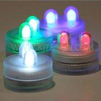 Party CR2032 Replaceable waterproof batteries Submersible 2 LEDs Tea lights