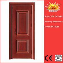 Commercial stire case hand tril steel door SC-S066