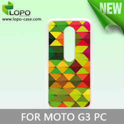 Hot Selling Sublimation phone cases for Moto G3