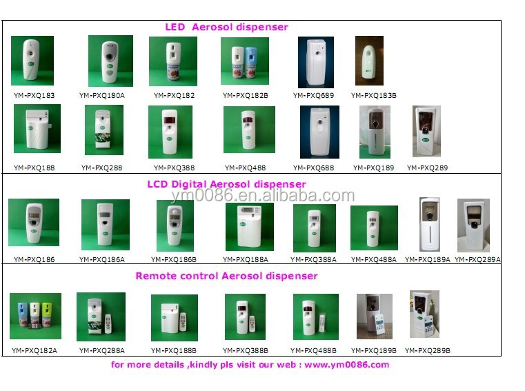 High quality and compretive price for spray air freshener YM-186A in guangzhou