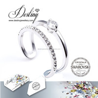 Destiny Jewellery - teenage cute ring for girls jewelry wholesale adjustable ring Crystals from Swarovski - DR0307