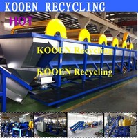Top quality pe pp pet second hand plastic recycling equipment