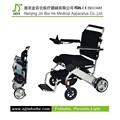 portátil plegable silla de ruedas eléctrica del motor