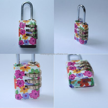 2015 colorful combination lock with 3 digital