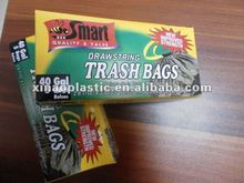 2011 VALUE HDPE and LDPE plastic drawstring trash bags