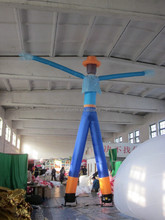 new design advertising/decorative small inflatable air dancer