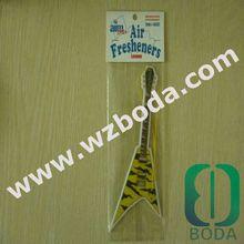 various shape hanging paper car perfume air fresherner