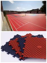 International Standard Porous Interlocking Flooring, Dranage Basketball court Tiles