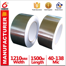 High viscosity Sticky adhesive Aluminum Foil tape Strong adhesion
