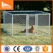 Heavy duty galvanized metal Dog Crates / cheap chain link kennels for dogs