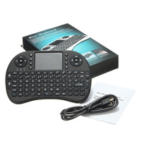 wireless mini keyboard 2.4G QWERTY keyboard air mouse for PC Notebook android tv box wireless keyboard touchpad