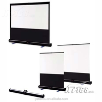 Easy take projection screen/outdoor fast fold tripod projection screen/Excellent Quality Portable Projection Screens