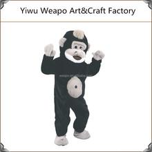 2015 Factory direct sale plush animal mascot costume monkey mascot for kids