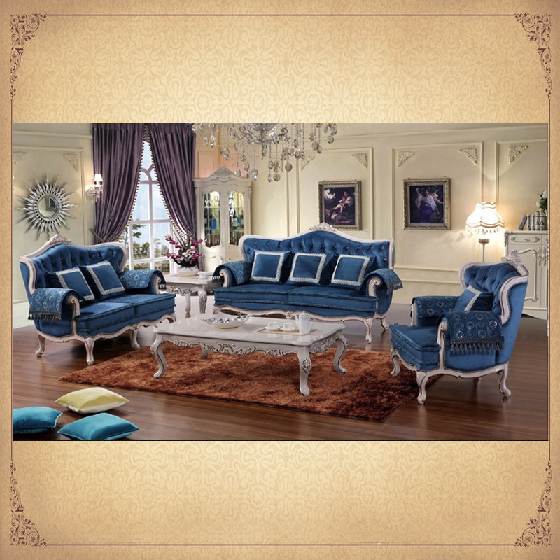 Antique Complete Country Style Living Room Sets In Baroque Designs