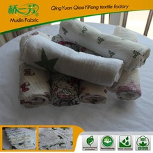 Fashion blanket manufactory custom print muslin thick polyester blanket