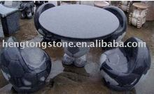Hand Carved Stone Round Dining Table