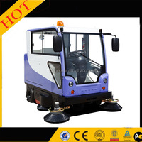 Outdoor Road Sweeper,tractor mounted road sweeper/driver sweeper machine/runway sweeping car