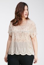 Plus size borde tops para mulheres gordas / maxi tops / fat mulheres tops / roupas femininas