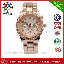 R0482 Marca relojes <span class=keywords><strong>de</strong></span> aleación relojes para dama