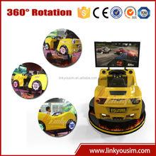 2015 360 degree left hand or right hand car driving training simulator, 4d car racing simulator