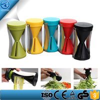 Stainless Steel & New Material Multifunction Spiral Vegetable Slicer