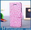 For iPhone 5C Diamond Leather Flip Stand Case, New Products Leather Cover Case for iPhone 5C
