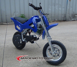 250W /300W Kids Battery Powered Electric Dirt Bikes Blue with CE Approved