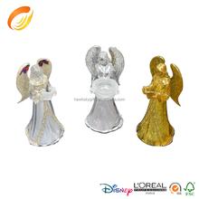LED light christmas ornaments acrylic crystal Angel