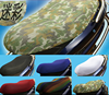 Cheap 3D double mesh camouflage cool motorcycle seat cover