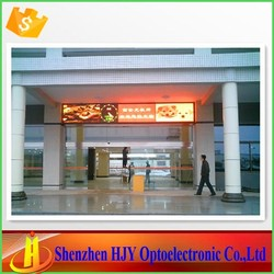 China express p7.62 indoor led programmable sign display board
