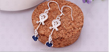 Summer new design fashion 925silver jewelry earrings