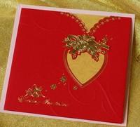 istanbul 3d models fabric wedding invitation card & Free sample 2014 wedding card & wholesale invitation card