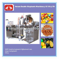 Fully stainless steel wide output range factory price small peanut sugar coating pan machine