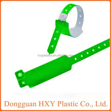 HXY custom vinyl wristbands for events, wristbands for circulation
