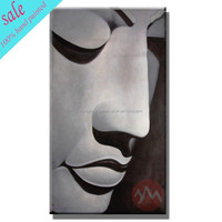 Wall art hand painted buddha oil painting