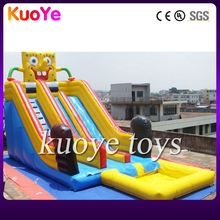 inflatable spongebob water slide,inflatable water slide prices 2015,new inflatable pool water slide