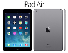 APPLE IPAD AIR 64GB Wi-Fi + Cellular BLACK