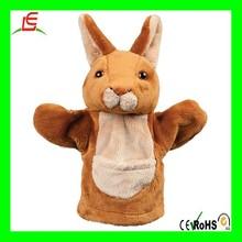 LE M230 Plush teddy kangaroo puppet glove plush hand puppet