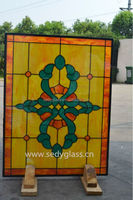stained glass panels for windows and doors