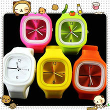 Fashion silicone kid jelly wrist watches wholesale