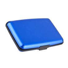 Waterproof Business ID Metal Credit Card Wallet Credit Card Holder Aluminum Metal Case Box Wholesale Business Card Holders